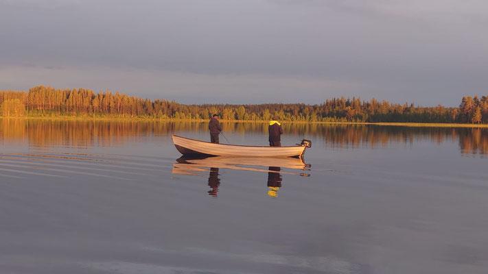 Angeln in Lappland- ein Traum