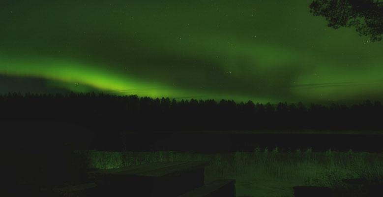 Polarlichter am Juktån