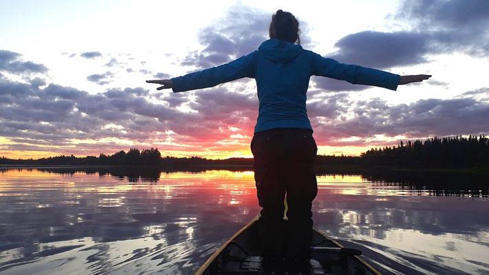 In Schweden die Freiheit und die Stille genießen