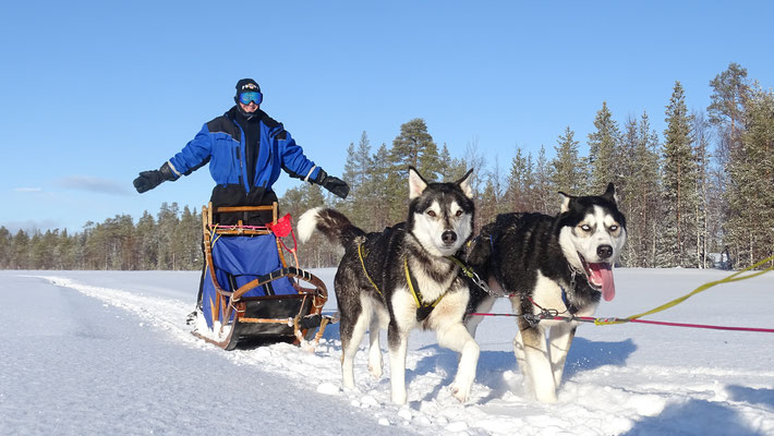 Den Winterurlaub in Schwedens Norden verbringen