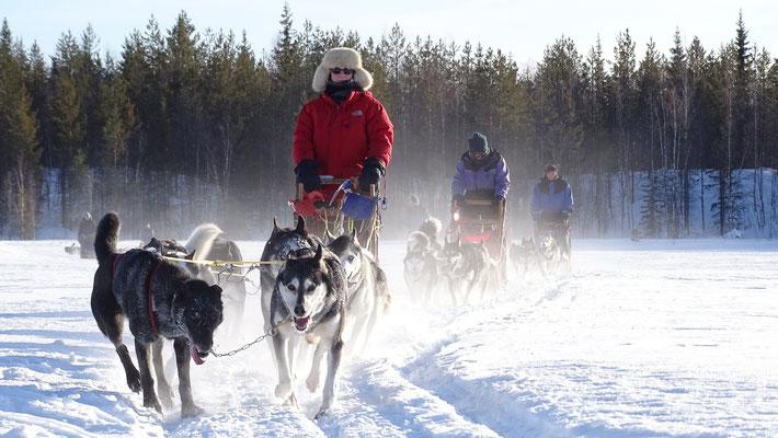 Wintertraum in Schweden