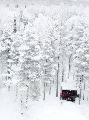 Urlaub im Winter in Skandinavien