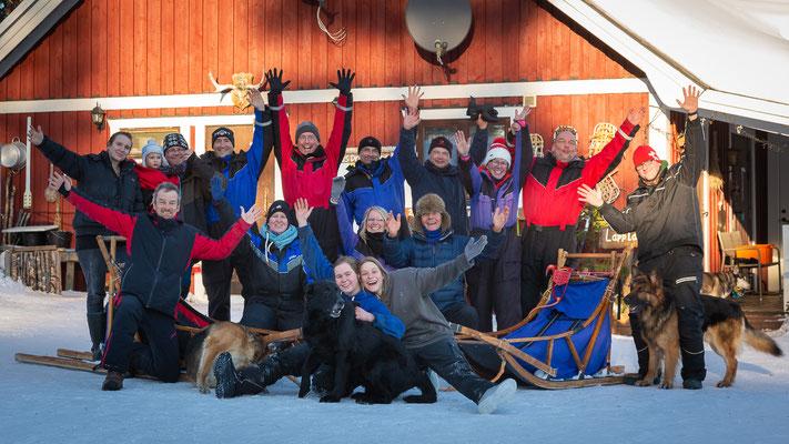 Winterurlaub in Schweden / Lapplands Drag