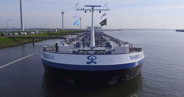Een prachtige nieuwe tanker