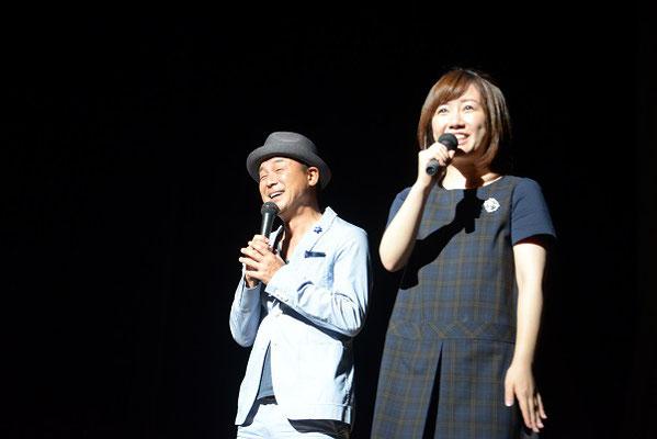 ゲストの横山さん、泉水さん