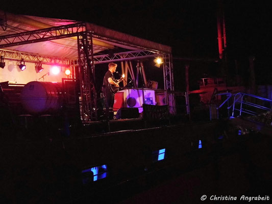 John Greundiek Live 2021 ©Christina Angrabeit