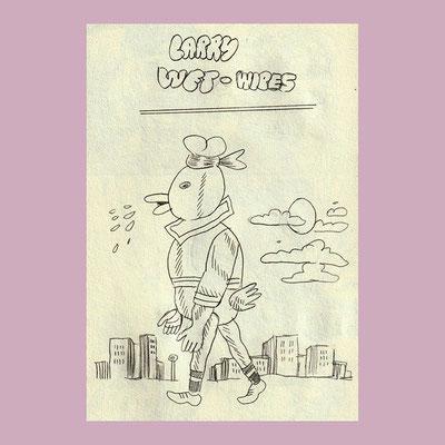 Larry Wet Wipes (Old Sketch)