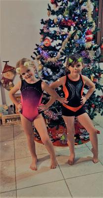 Le 21 décembre : Alexia et Noélie - Poussinettes
