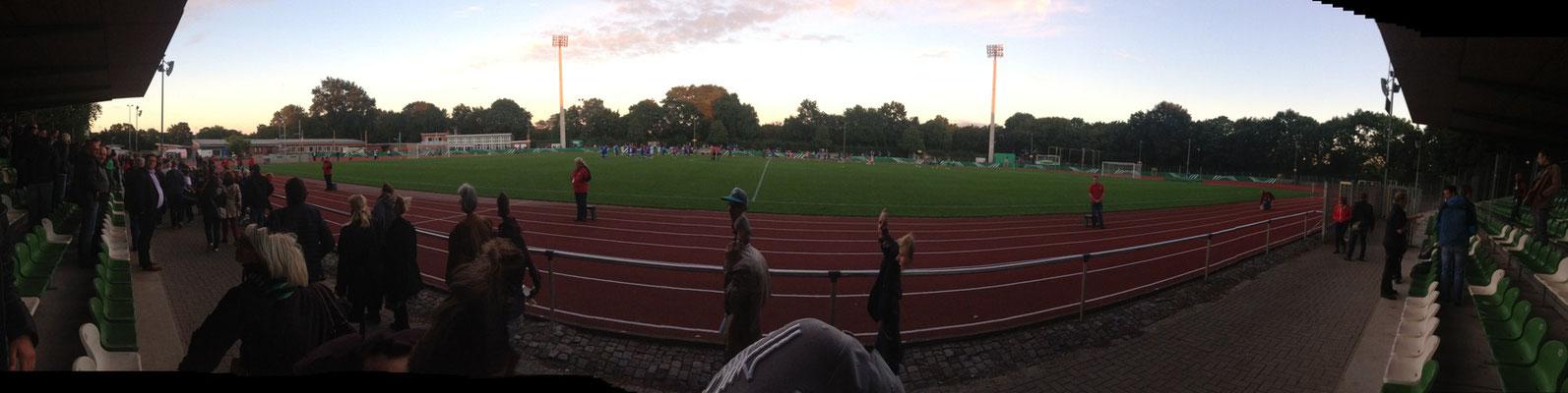 VIP/ Presse Bereich. Foto: Fabian Köster.