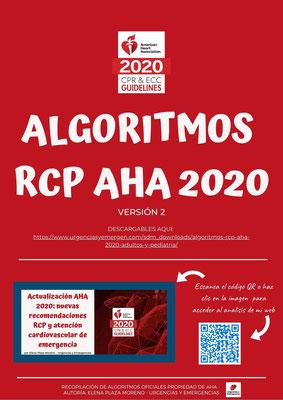 Algoritmos de RCP AHA 2020