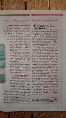 Seite 2 meines Artikels zum Thema Berufung in der Prisma