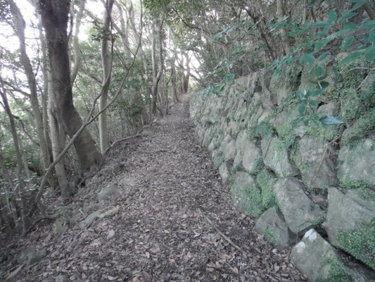 文殊寺の石垣
