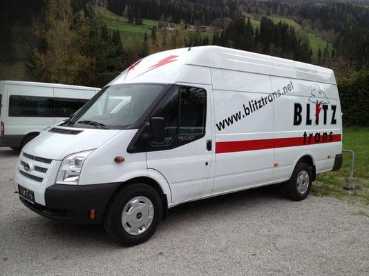 Blitztrans, Schladming: Autobeschriftung