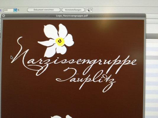 Logoentwicklung: Narzissen-Gruppe Tauplitz