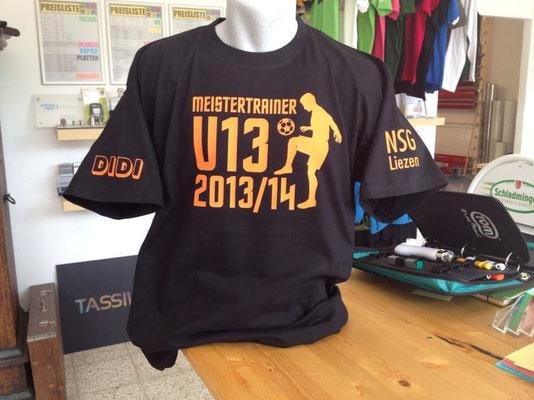 Geschenkt: Tshirt bedruckt Ennstal