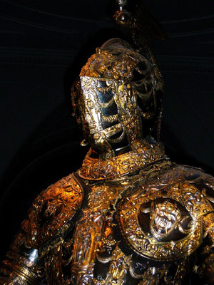 a beautiful set of armour in the Vienna national museum.
