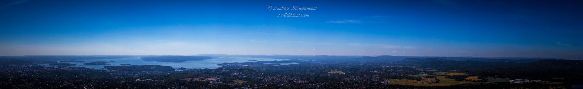 Blick über den Oslo-Fjord