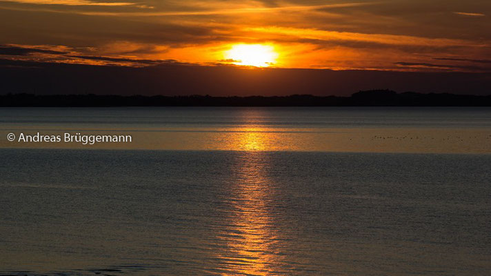 Sonnenuntergang über Dänemark