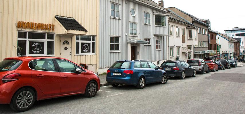 in Bodø auf dem Festland