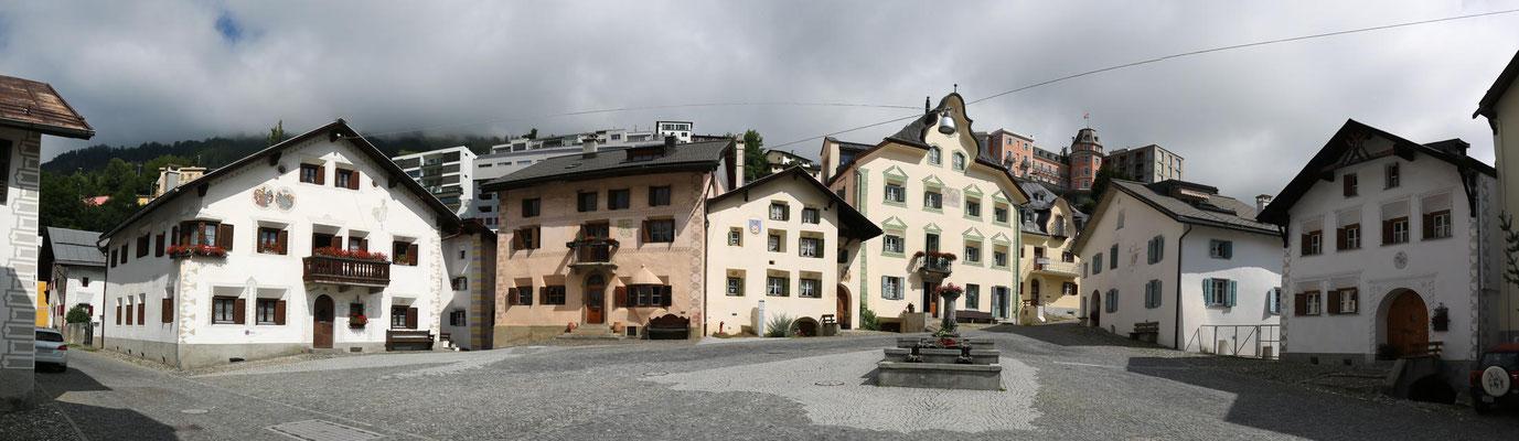 Scuol, im alten Dorfteil