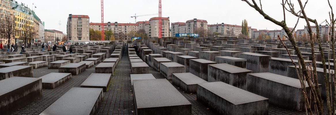 2711 Betonelemente als Denkmal für die ermordeten Juden Europas