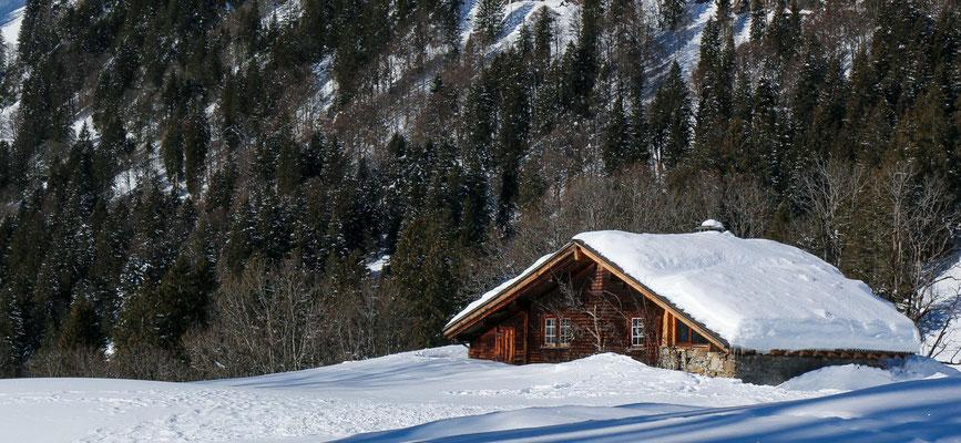 Das älteste Haus in Braunwald