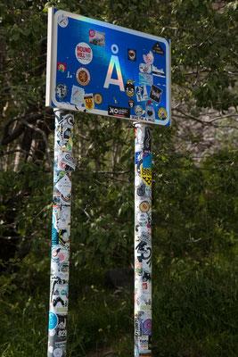 "am südlichsten Ende aller Lofotenstrassen, in ""Å"""