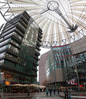 Das Sony-Center am Potsdamer Platz