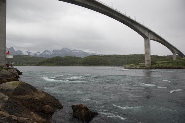 Saltstraumen in der Nähe von Bodø