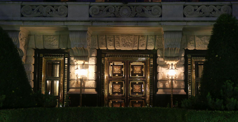 Eingang der russischen Botschaft