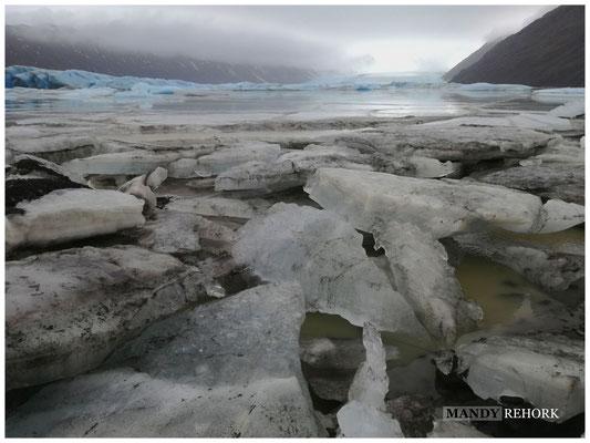 Gletscherlagune an der Südküste