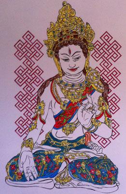 Tara, muurschildering bij mij thuis