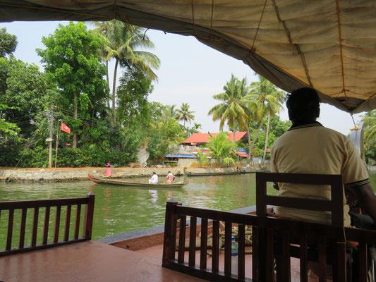 Ausblick vom Hausboot