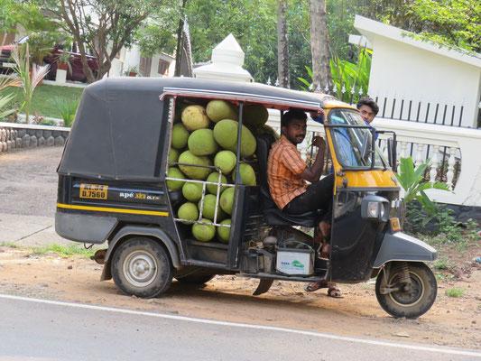 TukTuk in Kerala