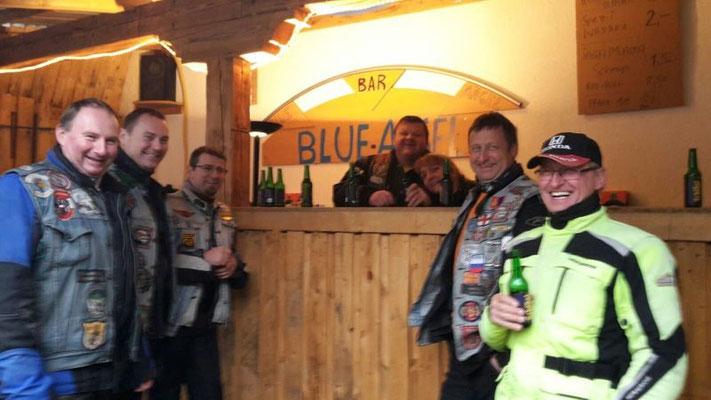 Blue Angel Bar bei den MC Dagles