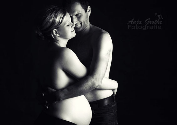 Professionelles Babybauch-Shooting in Halle