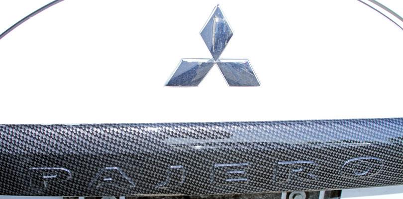 Einzigartiges Elemente am Fahrzeug