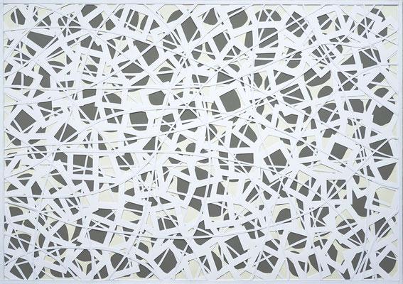 Cornelia Rohde/Jürgen Forster: Papercut 3, 70 x 100 cm, 2017