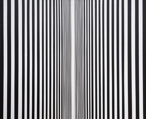 Cornelia Rohde: Bild 448. Acryl auf LW, 100 x 120 cm, 2017