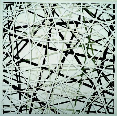 Cornelia Rohde: Papercut, Papier und Karton, 2017
