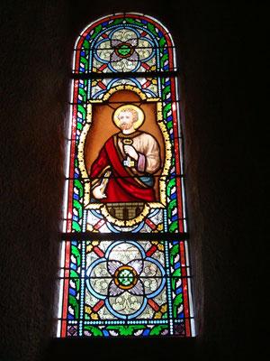 Eglise de CHAPEAU (03) 10 baies -  Restauration complète + bavettes et grilles de protection laiton