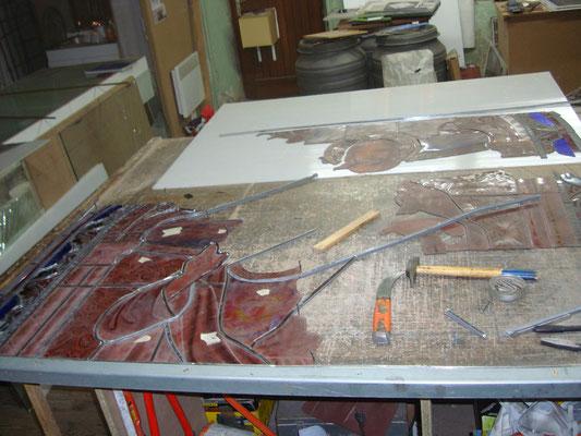 BORT LES ORGUES (19) Restauration complète de 3 baies en stockées caisses
