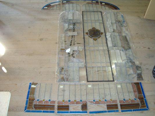 Particulier 3 restauration complète + création d'un médaillon