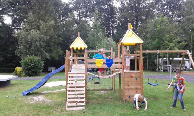 kindercamping met veel speelplezier