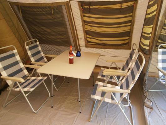 tent huren op svr camping