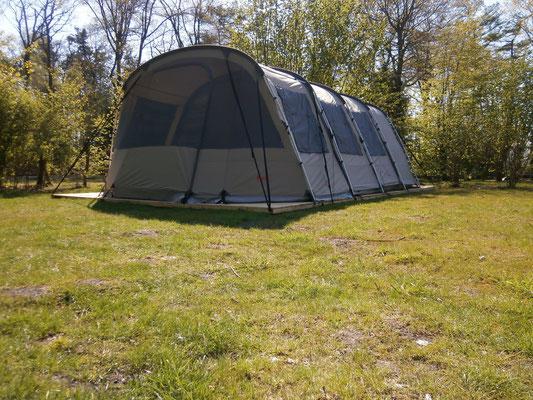 ingerichte tenten te huur