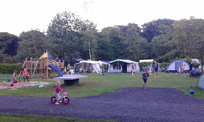 Veel speelplezier op de camping