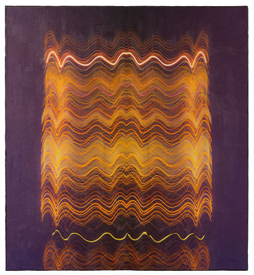 NEON LIFE (2016, 1/8, 80x87cm, MP0363, Photographie, Inkjet Pigmentdruck auf Leinwand, Acryl) © Michael Pfenning
