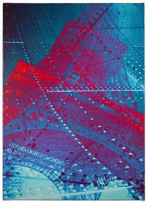 EN FER (2014, 1/8, 65x90cm, MP0081, Photographien, Inkjet-Pigmentdruck auf Leinwand, Acryl) © Michael Pfenning. Verkauft/Sold