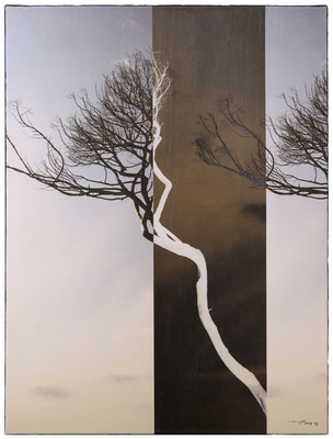 FRERES DU MISTRAL (2015, 1/8, 55x66cm, MP0095, Photographie, Inkjet-Pigmentdruck auf Leinwand, Acryl) © Michael Pfenning